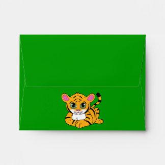 Matching Envelope: Tiger Cub Envelope