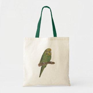 Matching Green Budgie Bag
