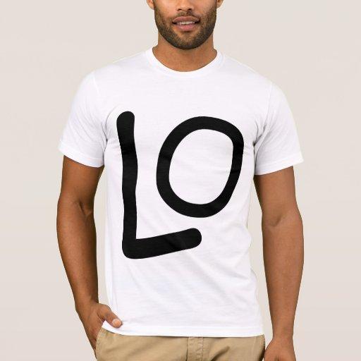 Matching LO VE shirt boy