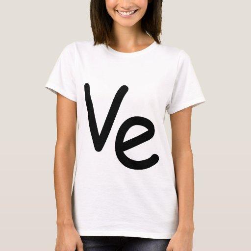 Matching LO VE shirt girl