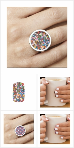 Matching Nail Art & Rings: The Ultimate Wearables