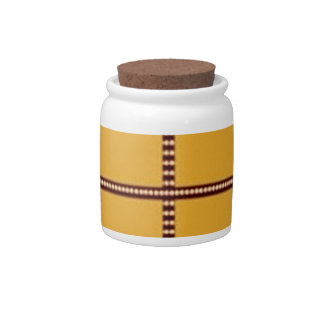 Matching Theme Squares - Silk Satin Acrylic look Candy Dish