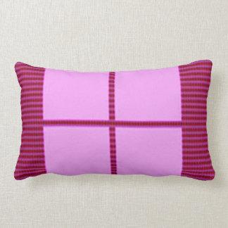 Matching Theme Squares - Silk Satin Acrylic look Lumbar Pillow