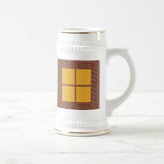 Matching Theme Squares - Silk Satin Acrylic look Coffee Mug