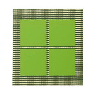 Matching Theme Squares - Silk Satin Acrylic look Memo Notepads