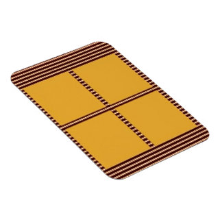 Matching Theme Squares - Silk Satin Acrylic look Rectangular Magnets
