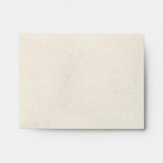 Matching Vintage Parchment Paper Style Envelopes