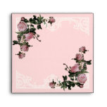 Matching Wedding Envelopes, Trellis Rose Vintage Envelopes