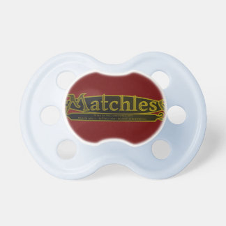 MATCHLESS,VINTAGE MOTORCYCLE EMBLEM. PACIFIER