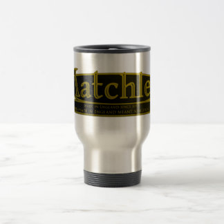 MATCHLESS,VINTAGE MOTORCYCLE EMBLEM. TRAVEL MUG