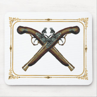Matchlock Pistols Mouse Pad