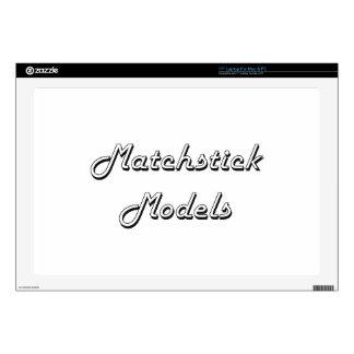 Matchstick Models Classic Retro Design Laptop Skin