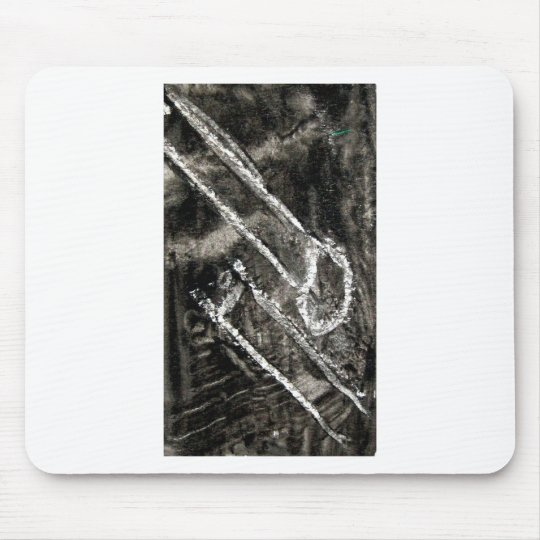 matchsticks side by side mouse pad