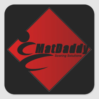 MatDaddy Scoring Solutions Square Sticker