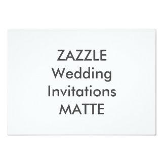 """MATE 7"""" x 5"""" invitaciones del boda Invitación 5"""" X 7"""""""