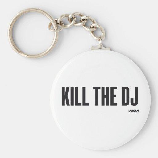 Mate a DJ Llavero Personalizado