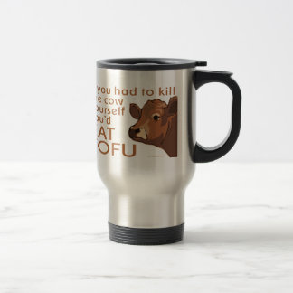 Mate a la vaca - vegano, vegetariano tazas