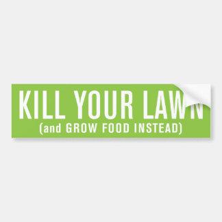 Mate a su césped (y produzca la comida en lugar de pegatina para auto