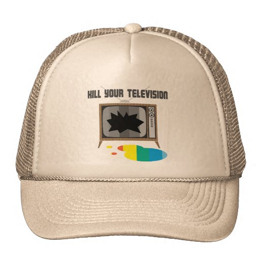 Mate a su televisión gorra