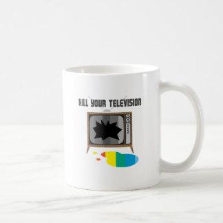 Mate a su televisión taza