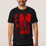 Mate a su WOD - camiseta de AK47 de los hombres Playera