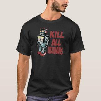 Mate a todos los seres humanos playera