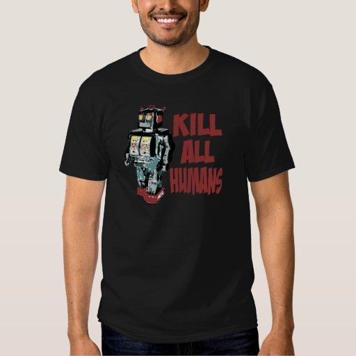 Mate a todos los seres humanos polera