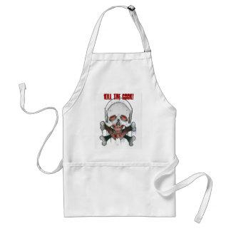 ¡Mate al cocinero Delantal