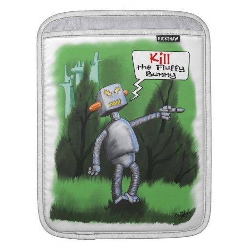 Mate al conejito mullido funda para iPads