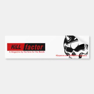 mate al factor juice-skull_inprogress una revist etiqueta de parachoque
