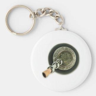 Mate Basic Round Button Keychain