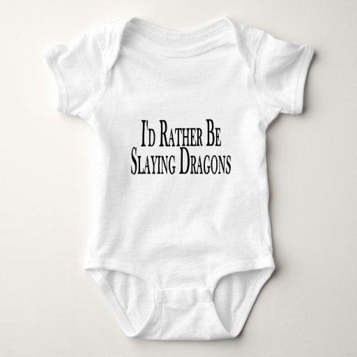 Mate bastante los dragones body para bebé