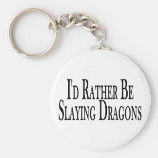 Mate bastante los dragones llaveros