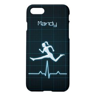 Mate de salto del instructor de la mujer personal funda para iPhone 7