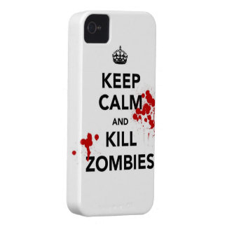 Maté for iPhone 4 and 4S - KeepCalm Zombie marries iPhone 4 Cover