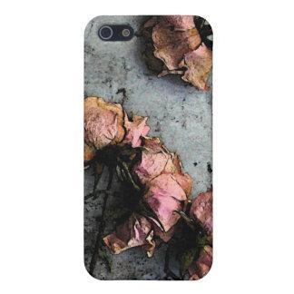 Mate muerto 5S del iPhone 5 de los rosas iPhone 5 Protectores