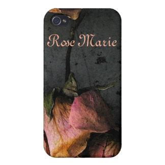 Mate muerto del iPhone 4 de la caída de los rosas iPhone 4 Funda