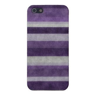 Mate púrpura del caso del iPhone 5 del modelo de l iPhone 5 Fundas