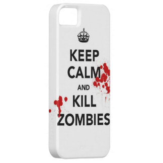 Maté will be iPhone 5 and - KeepCalm Zombie marrie iPhone SE/5/5s Case
