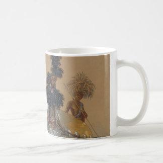 Matebele warrior in dancing dress coffee mug