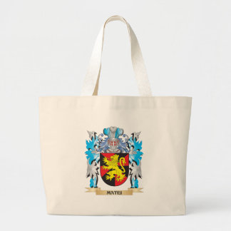 Matei Coat of Arms - Family Crest Canvas Bag