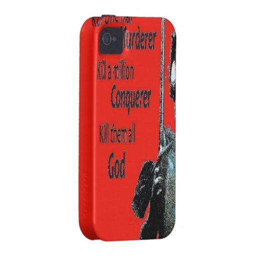 Máteles todo el caso del iPhone 4/duro Case-Mate iPhone 4 Carcasas