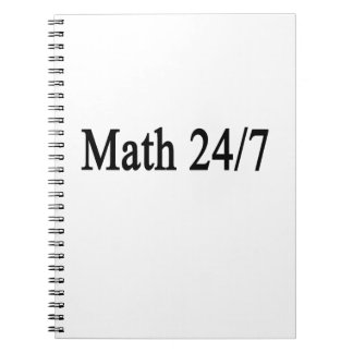 Matemáticas 24/7 notebook