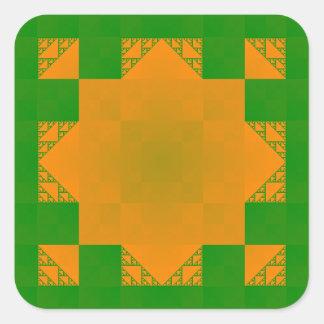 Matemáticas-ARTE pegatinas de la estrella de 8-Po