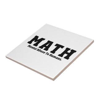 Matemáticas Tejas Cerámicas