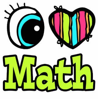Matemáticas brillante del amor del corazón I del o Llavero Fotográfico