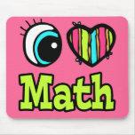 Matemáticas brillante del amor del corazón I del o Tapete De Raton