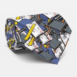 matemáticas, corbatas personalizadas
