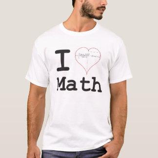 Matemáticas de la ecuación del corazón I Playera