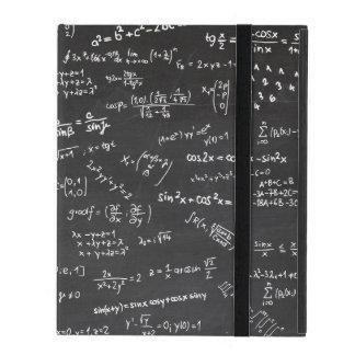 Matemáticas de la pizarra iPad coberturas
